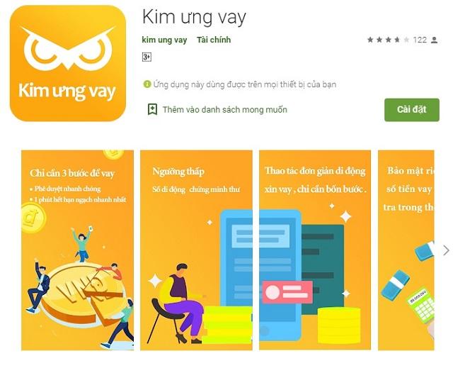 Kim ưng vay vay tiền online SIÊU TỐC, nhận tiền trong ngày